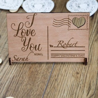 Wooden Postcards
