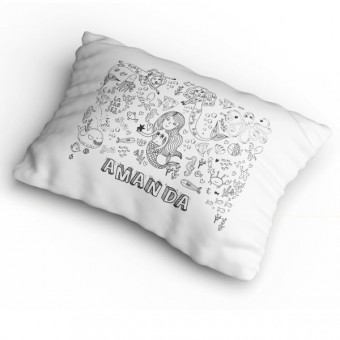Colour-In Pillowcases