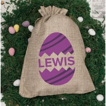 Personalised Easter Mini Sacks