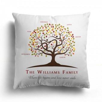 Family Tree Cushion Cover