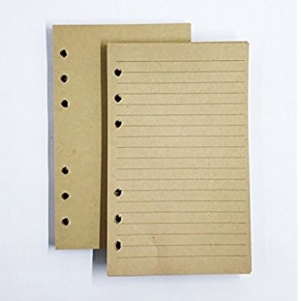 Bamboo Cover Notebook Refill pages