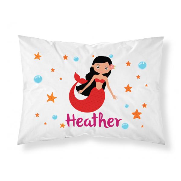 Personalised Children Mermaid Pillowcase