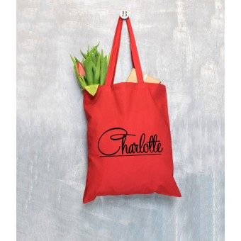 Name Tote Bag - Name