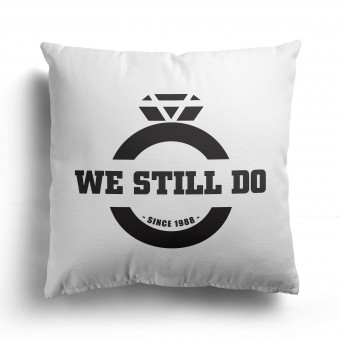 Personalised Anniversary Cushion Cover