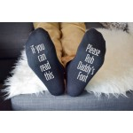 Personalised Socks Foot rub
