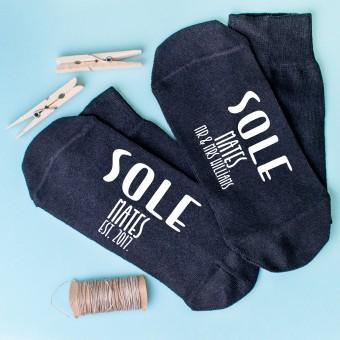 Personalised Socks Sole Mates