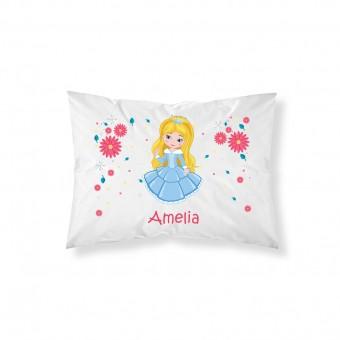 Personalised Children Princess Pillowcase