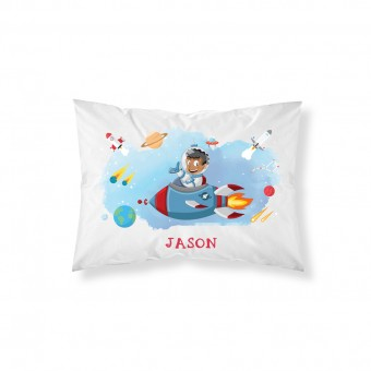 Personalised Space Pillowcase