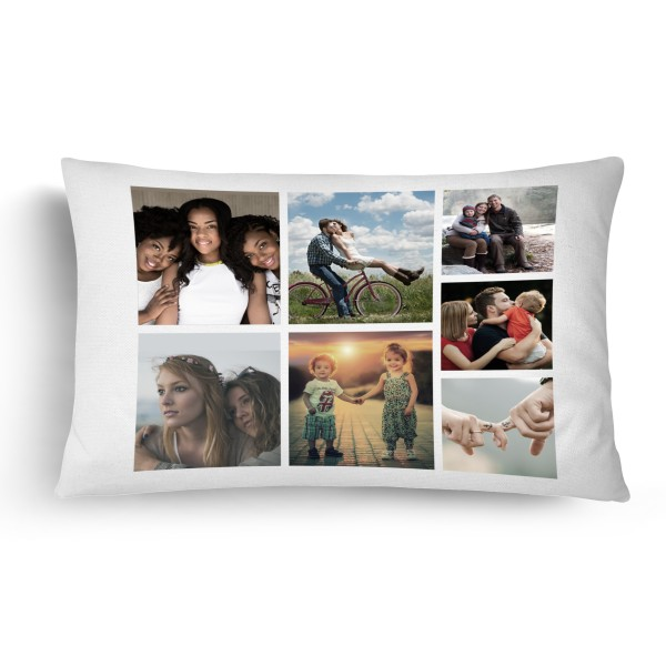 Personalised Photo Collage Pillowcase Up to 7 Photos PIP-207