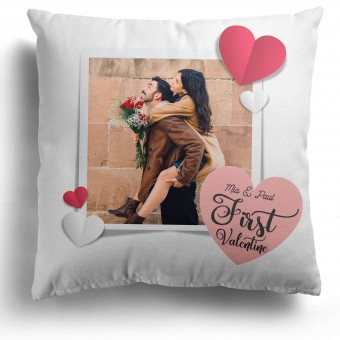 Personalised Photo Cushion Valentines Day PIPV-105