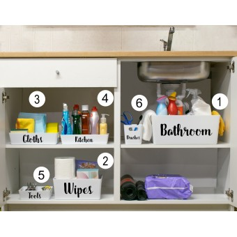 Personalised  Kitchen Organiser Boxes