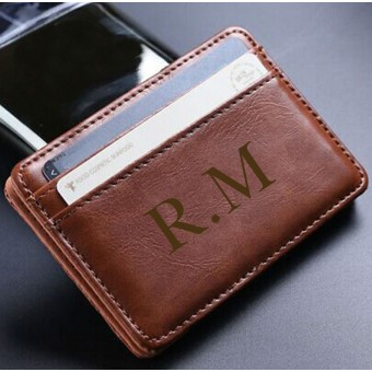 Personalised Leather Magic Wallet