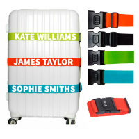 Personalised Combination Luggage Straps