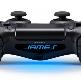 Personalised PlayStation 4 Controller Name Sticker