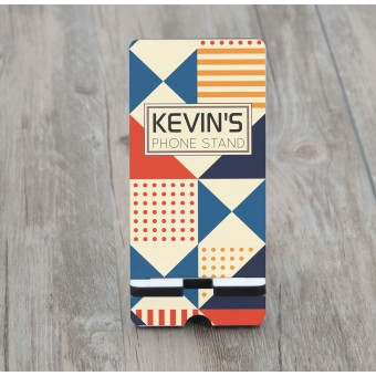 Personalised Wooden Phone stand