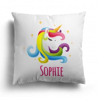 Personalised Unicorn Cushion Cover