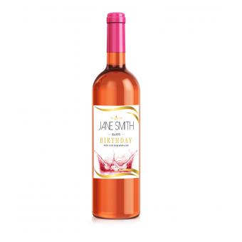 Personalised Wine Label