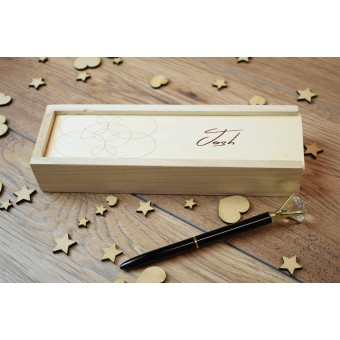 Personalised Wooden Pencil Box