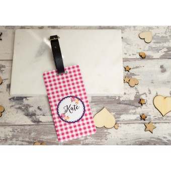 Shabby Chic Luggage tags